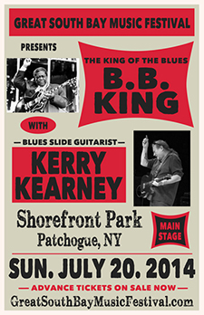 BB King with Kerry Kearney